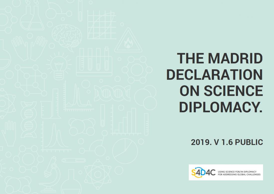The Madrid Declaration on Science Diplomacy – EU Science Diplomacy