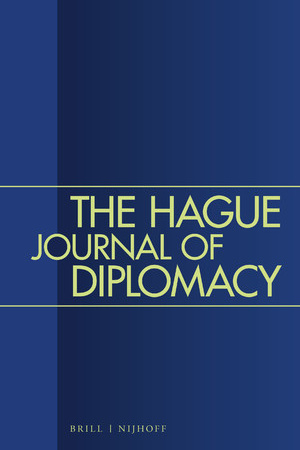 """title page """"The Hague Journal of Diplomacy"""""""